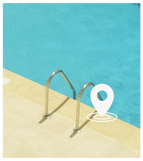 Localisation de l'entreprise Pass Piscine