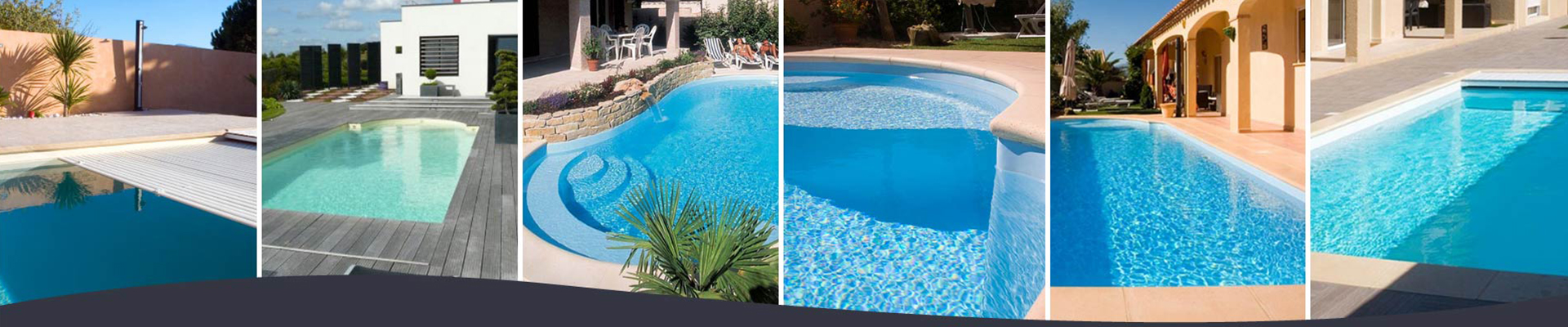 Bande photo de piscines